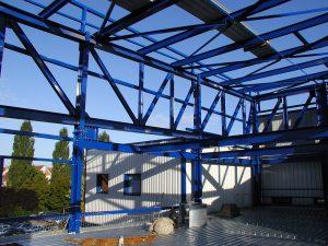 Intégration d'un bâtiment de production dans une unité existante - OCTAPHARMA