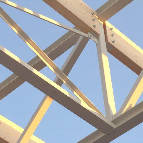 Structure mixte métal/bois – bâtiment tertiaire (centre de formation) – KUHN
