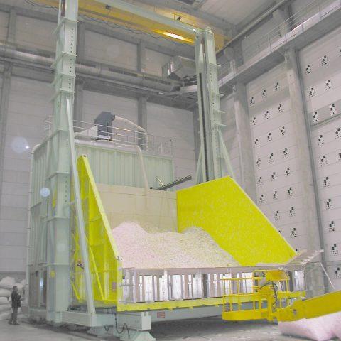 Structure de récupération de maquettes pour simulations aéronautiques