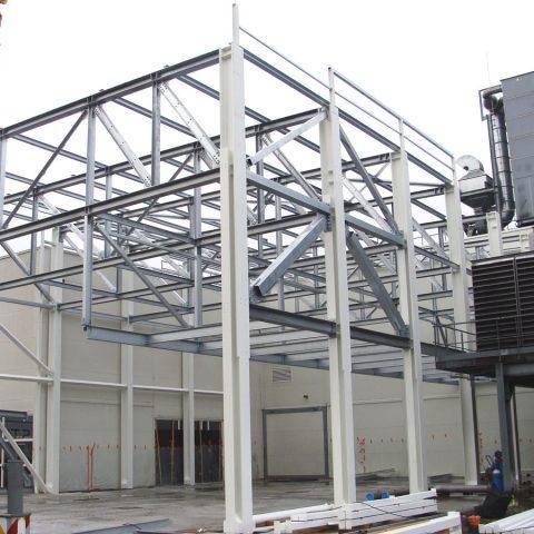 Nouveau bâtiment de production – industrie agro-alimentaire