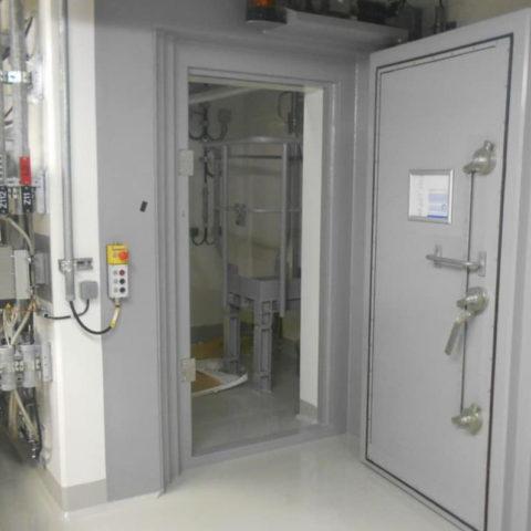 OL3 – Centrale nucléaire EPR – Etude de portes biologique (anti-radiation) pivotantes
