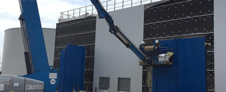 Projet Novarka (Tchernobyl) – Portes pivotantes et coulissantes de grandes dimensions (résistantes à des impacts)
